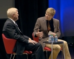Tane interviews former U.S. Rep. Richard Gephardt at the Mayo Clinic Transform Conference