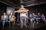 Asian Carp show. With an unexpected guest on stage.